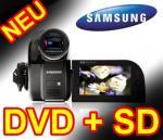 Samsung VP-DX105 DVD & SD Camcorder 34-fach opt. Zoom