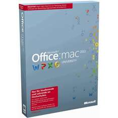 Microsoft Office Mac University 2011 (lifetime) inkl. Office 365 University (4 Jahre)
