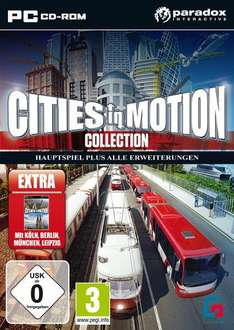 [Steam] Cities in Motion Collection (inkl. aller AddOns)