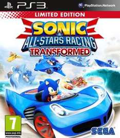 UK) Sonic & All Stars Racing Transformed (Limited Edition) [Xbox/PS3] für ca. 18.74€ @ Thehut