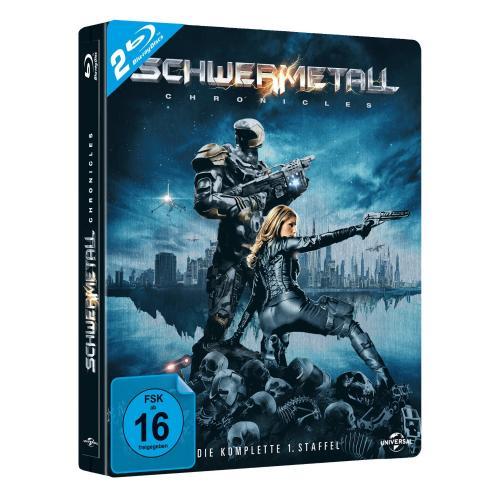 (Blu-Ray) Schwermetall Chronicles - die erste Staffel (Steelbook) für 18,94 €