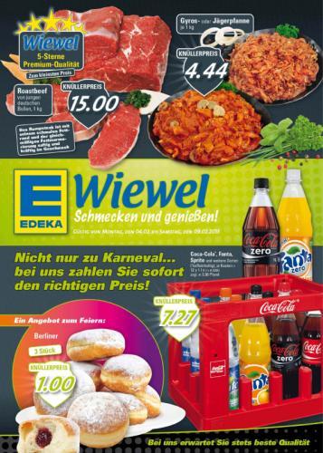 [Lokal Münster, Ahlen,Lüdingh.] Coca-Cola 12x1l Mehrwegkiste 7,27 € bei Edeka Wiewel