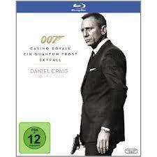James Bond 007 - Daniel Craig Collection [Blu-ray] @ Amazon (Skyfall, QT & CR)