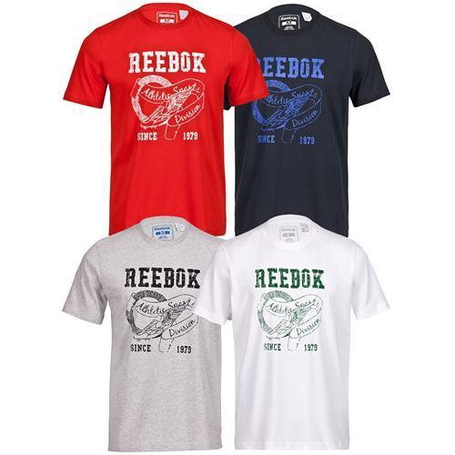 Reebok T-Shirt weiß grau rot oder schwarz M L XL XXL für 11,11 statt  29,95 €