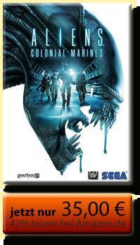 42% günstiger: PC-Spiel Aliens Colonial Marines Limited Uncut