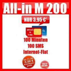 100 Min + 100 SMS + Internet-Flat (Vodafone) für effektiv 6,41€/Monat durch  Einmalauszahlung