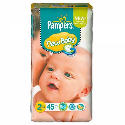 Pampers New Baby Gr. 2 Mini (3-6 kg) 225 Stück für 31,55€