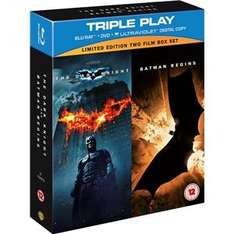 [play.com] Blu-Ray Set Batman Begins und The Dark Knight für 13,91 EUR inkl. VSK außerdem Kill Bill Volume 2 für 5,86 EUR