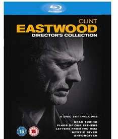 (UK) Clint Eastwood - Director's Collection [5 x Blu-ray] für umgerechnet ca.17.67€ @ Zavvi