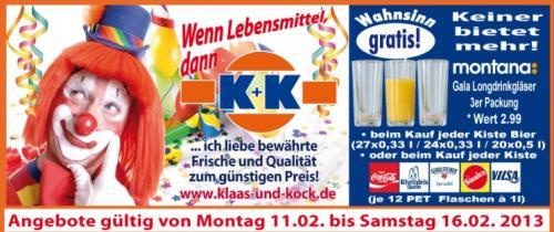 [Regional] König Pilser und Bitburger für 9,99€ je Kiste samt 3er Set Longdrink-Gläser (auch zu anderen Getränkekisten)
