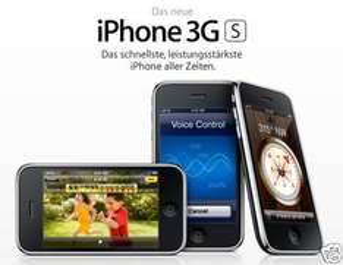 Apple iPhone 3GS 16 GB +KFZ Ladegerät für nur 161,- EUR inkl. Versand! [gebraucht Garantie]