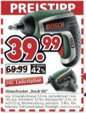 [Friedberg/Parsdorf ] Bosch-IXO-Akkuschrauber bei SEGMÜLLER Möbelhaus für 39,99 €