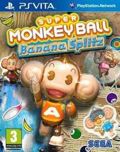 Super Monkey Ball Banana Splitz für PS Vita für 9,50 EUR