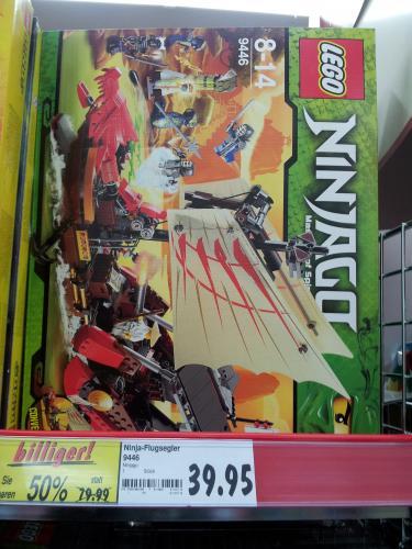 [offline Kaufland] LEGO 9446 Ninja-Flugsegler NINJAGO 39,95€ statt 79,99€