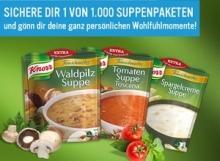 1000 KNORR Suppenprodukte gratis! [Facebook]