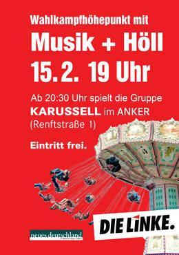 Lokal Leipzig-Gruppe Karussell Konzert