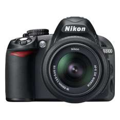 Nikon D3100 mit AF 18-55mm VR Objektiv @ MediaMarkt.de für 299,00 EUR