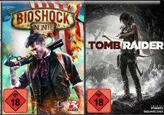 Bioshock Infinite und Tomb Raider kostenlos bei Kauf einer AMD Radeon HD 78xx (zb. HD 7850 für 145€)