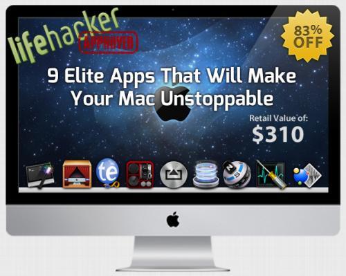 Lifehacker Bundle von StackSocial – 9 Apps für rund 37€