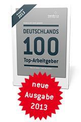 """Buch """"Deutschlands 100 Top-Arbeitgeber 2013"""" kostenlos für Studenten"""