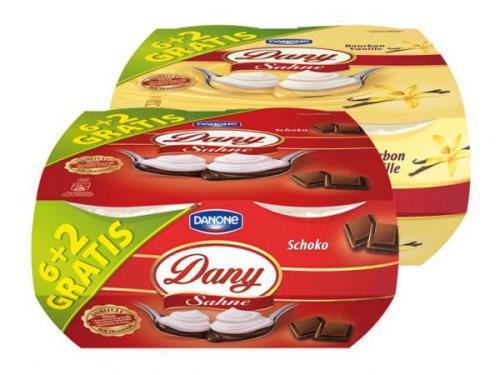 Netto Marken Discount - Danone Dany Sahne (8x 115g)