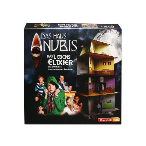 Das Haus Anubis : Brettspiel  -3 verschiedene Sorten- in jedem Tedi (sofern noch da, in Halle Saale hatten es 2 von 2 aufgesuchten)