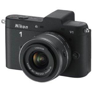 Nikon 1 V1 in schwarz mit 10-30mm im Kit (WHD)