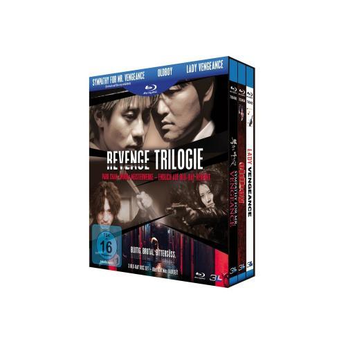 Blu-ray Box Revenge Trilogie von Park Chan-wook endlich wieder für 12,99 Euro (4,33 Euro pro Film)