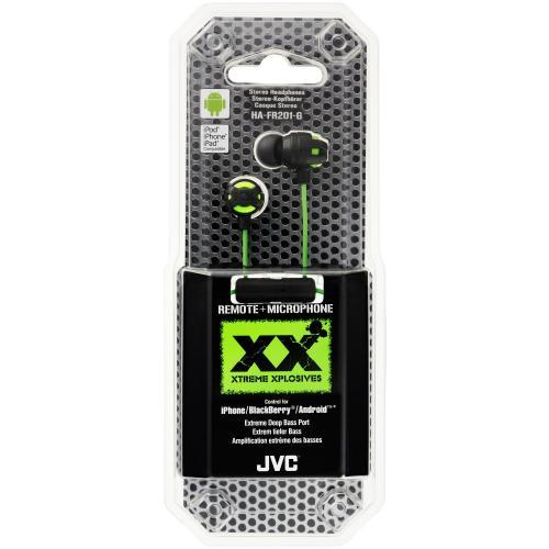 JVC HA-FR201-G-E Xtreme Xplosives In-Ear-Kopfhörer für 19€