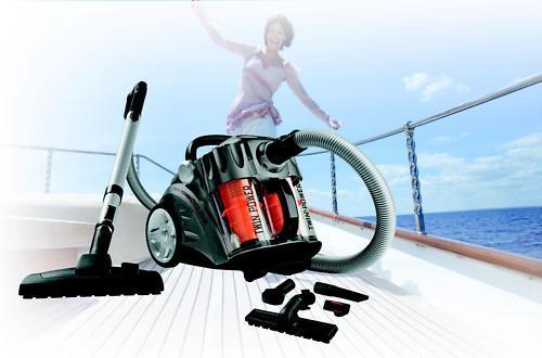 Profistaubsauger der schweitzer Marke Trisa Swiss Twin Power Cyclone Plus!!! @ Ebay