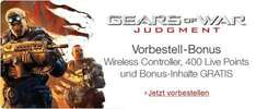Gears Of War: Judgment + Wireless Controller bei Amazon [Xbox360]