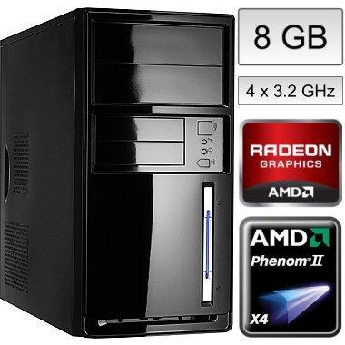 Aufrüst-PC Phenom X4 955 für 184,90 EUR inkl. Versand!