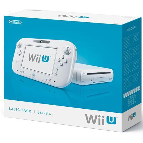 Nintendo Wii U Basic Pack 8GB in weiß für nur 231,95 EUR inkl. Versand!