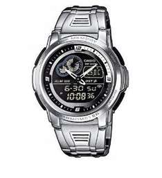 Casio Collection Herren-Armbanduhr Analog / Digital Quarz AQF-102WD-1BVEF