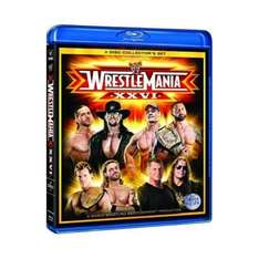 Blu-Ray Box - WWE Wrestlemania 26 (3 Discs) für €12,39 [@Play.com]