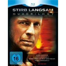 Stirb Langsam - Quadrilogy 1-4 [Blu-ray]  @Amazon