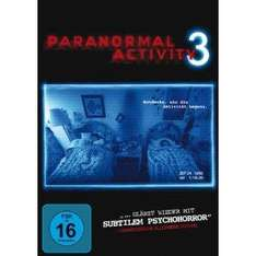 Paranormal Activity 3 (Dvd: 4,90; Blu-ray 8,90)