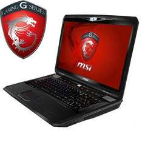MSI GT70-75287B Gaming Notebook mit Windows 8, IntelCore i7 (3. Generation) und 8GB RAM (17,3 Zoll)
