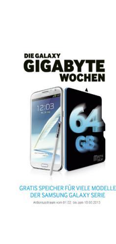 Samsung Galaxy S3 inkl. 32GB Speicherkarte für 1 € mit Vodafone Vertrag für mtl. 19.99 €
