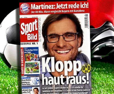 Sport-Bild Jahresabo 34,95 statt 94,35 @DailyDeal.de