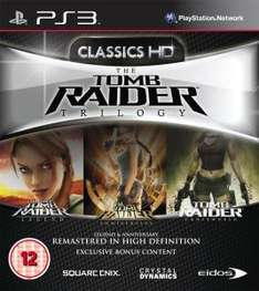 [Zavvi] [PS3] Tomb Raider Trilogy: HD