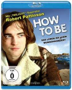 AMAZON.DE [BLU-RAY] HOW TO BE mit Robert Pattinson für 0,49 € (guter Füllartikel)