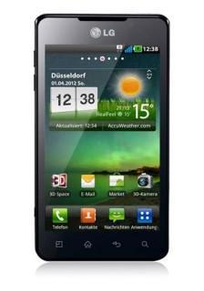 LG P720 Optimus 3D Max Schwarz - Ohne Simlock - Ohne Netlock - 244€