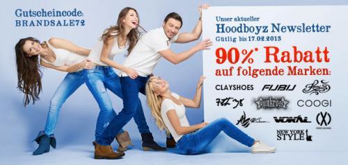 Hoodyboyz 90% Rabatt Fubu und Co (Neu Gültig von 16.2.2013)