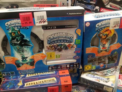 [Lokal Toom Echterdingen bei Stuttgart]Skylanders Spyro Starter Paket 3DS und PS3  für 25 Euro