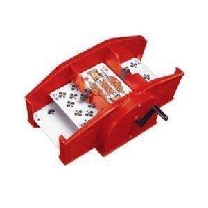[Amazon.de] Kartenmischmaschine rot von Amigo