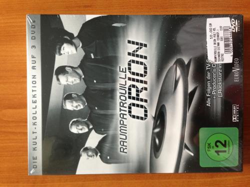 [lokal?, Freiburg] Kult! Raumpatrouille Orion 3 DVDs