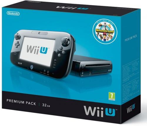 Nintendo Wii U Premium Konsole 32GB Wi-F bei Mindstar