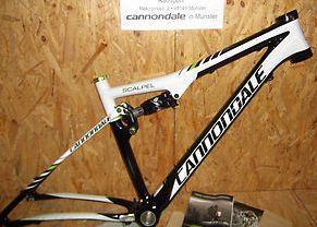 Cannondale 26er Scalpel, 2012er Rahmen Gr. M+L, 1199,95 €