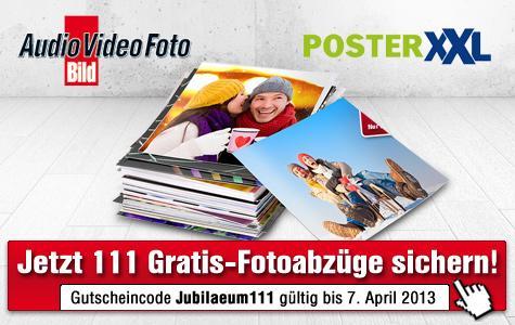PosterXXL: Jetzt 111 Gratis-Fotoabzüge im Format 10x15 Zentimeter sichern!